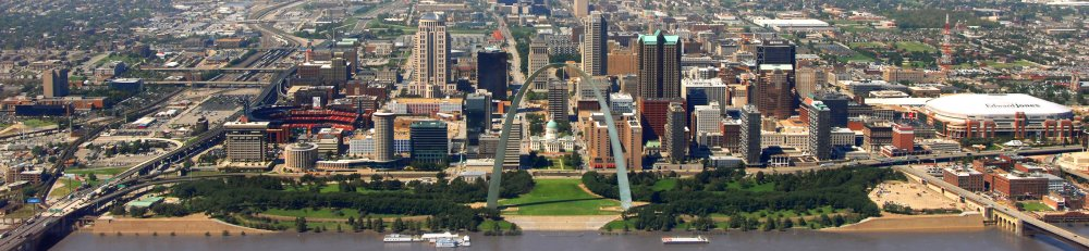 St Louis Riverfront 2008 via Wikimedia commons